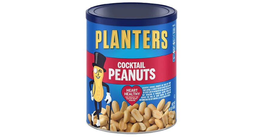 Planters Cocktail Peanuts (16 oz) from EatStreet Convenience - W Mason St in Green Bay, WI