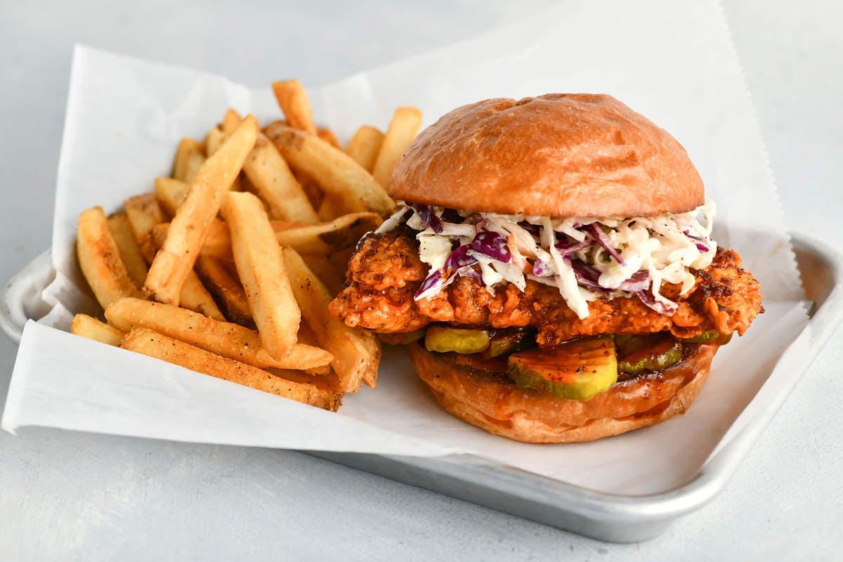 Crispy Boys Chicken Shack - George St in La Crosse - Highlight