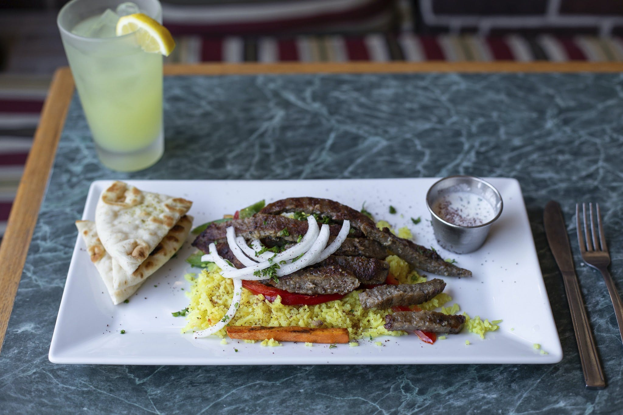 Aladdin Cafe in Lawrence - Highlight