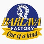 Logo for The Baklava Factory Mediterranean Cuisine