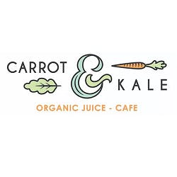 Carrot & Kale Organic Juice - Cafe Menu and Delivery in Oshkosh WI, 54901
