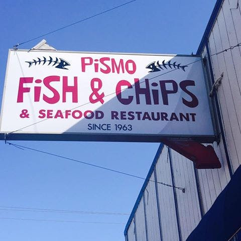 Logo for Pismo Fish & Chips
