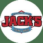Logo for Jack's Pizzeria & Burgers