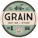 Logo for Grain Craft Bar + Kitchen
