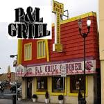 Logo for P & L Burger Pit