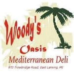 Logo for Woody's Oasis