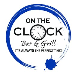 Logo for On The Clock Bar & Grill
