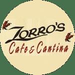Logo for Zorro's Cafe & Cantina