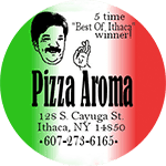 Logo for Pizza Aroma