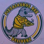 Logo for Pizzasaurus Rex