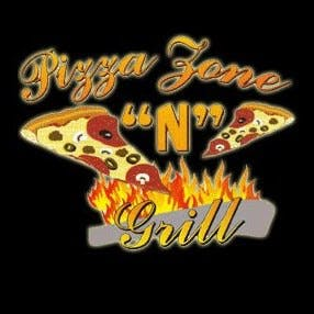 Logo for Pizza Zone ''N'' Grill