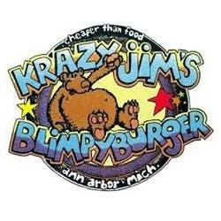 Logo for Krazy Jim's Blimpy Burger
