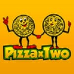 Logo for The Original Pizza x Two