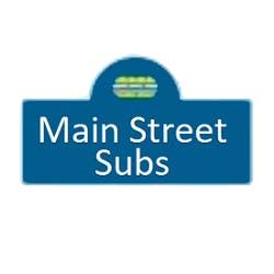 Logo for Main Street Subs