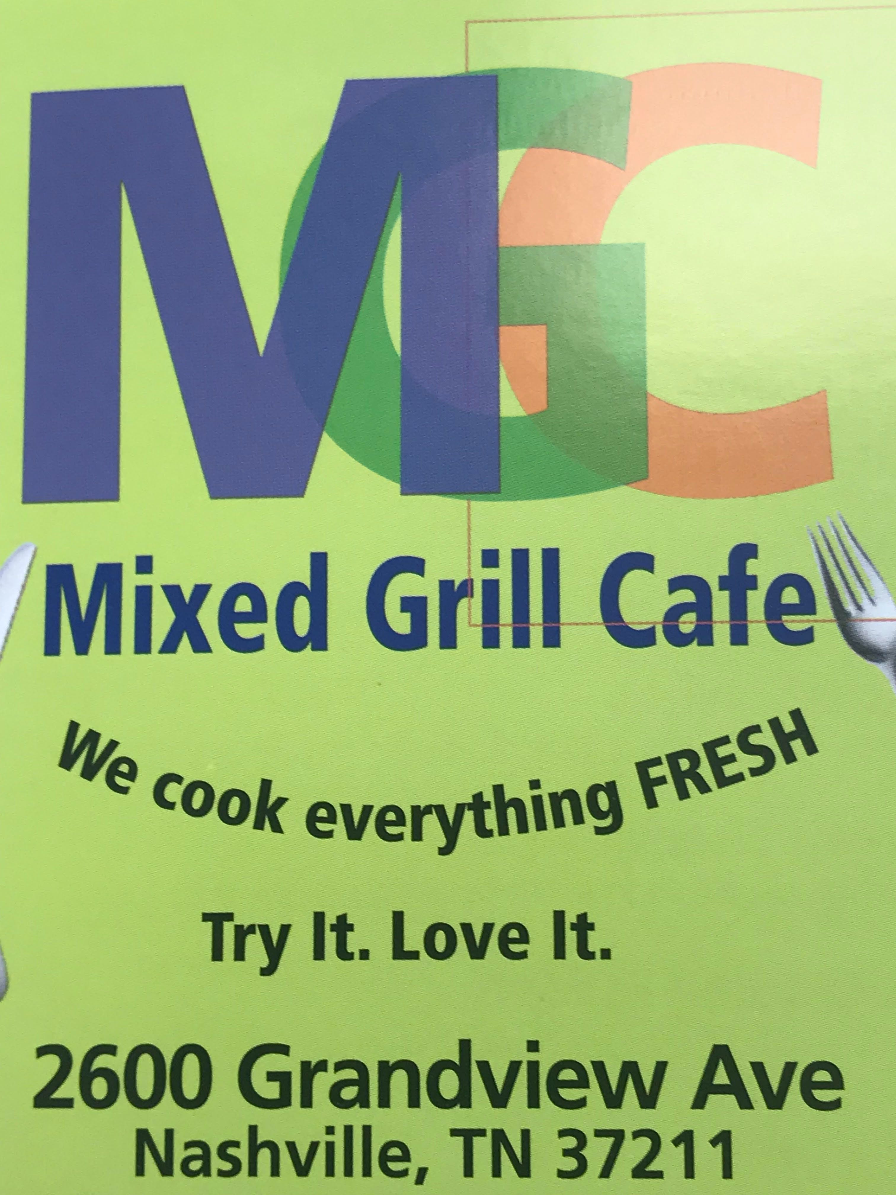 Logo for Mixed Grill Cafe
