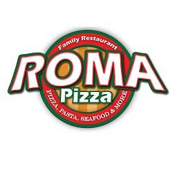 Logo for Roma Pizza