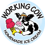 Logo for Working Cow Ice Cream Delivery