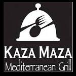 Logo for Kaza Maza Mediterranean Grill
