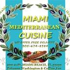 Logo for Miami Mediterranean Cuisine