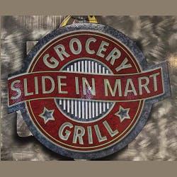 Logo for Slide In Mart & Grill