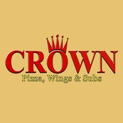 Logo for Crown Pizza and Wings