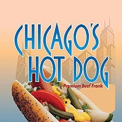 Logo for Gino's Chicago Beef & Hot Dogs