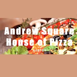 Logo for Andrew Square House of Pizza