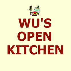 Logo for Wu's Open Kitchen