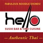 Logo for Hello Sushi Bar & Thai Cuisine