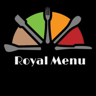 Logo for The Royal Menu