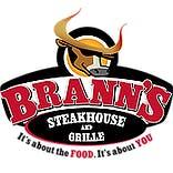 Logo for Brann's Steakhouse