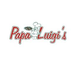 Logo for Papa Luigi's Pizza