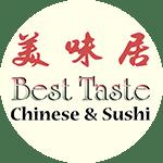 Logo for Best Taste Sushi & Chinese