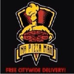 Logo for Mr. Pizza Man - Daly City