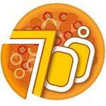 Logo for 700 Degrees Pizzeria