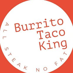 Logo for Burrito Taco King