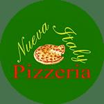 Logo for Nueva Italy Pizzeria