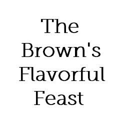 Logo for The Brown's Flavorful Feast