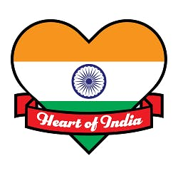 Logo for Heart of India