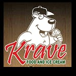 Logo for Krave Ice Cream and Food