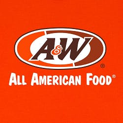 Logo for A & W Root Beer