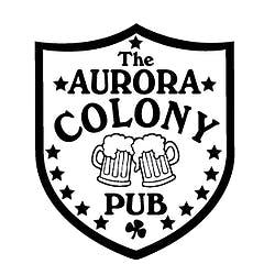 Logo for Aurora Colony Pub