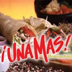 Logo for Una Mas Mexican Grill