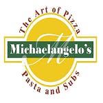 Logo for Michaelangelo's Pizza