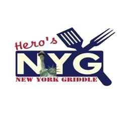 Logo for Hero's New York Griddle