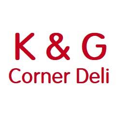 Logo for K & G Corner Deli