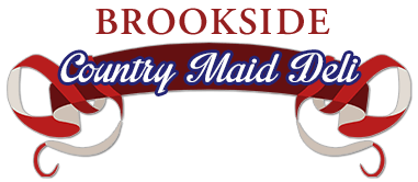 Logo for Brookside Country Maid Deli