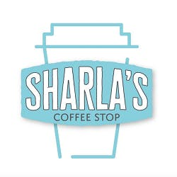 Logo for Sharla's Coffee Stop