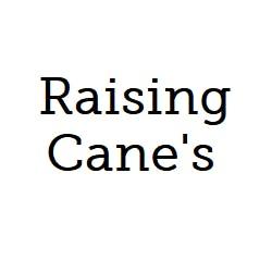 Logo for Raising Cane's - Lawrence Iowa St