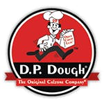 Logo for D.P. Dough